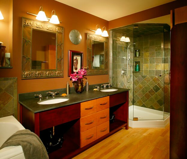warm bathroom color schemes how to warm up a cold bathroom bathroom remodel 21348