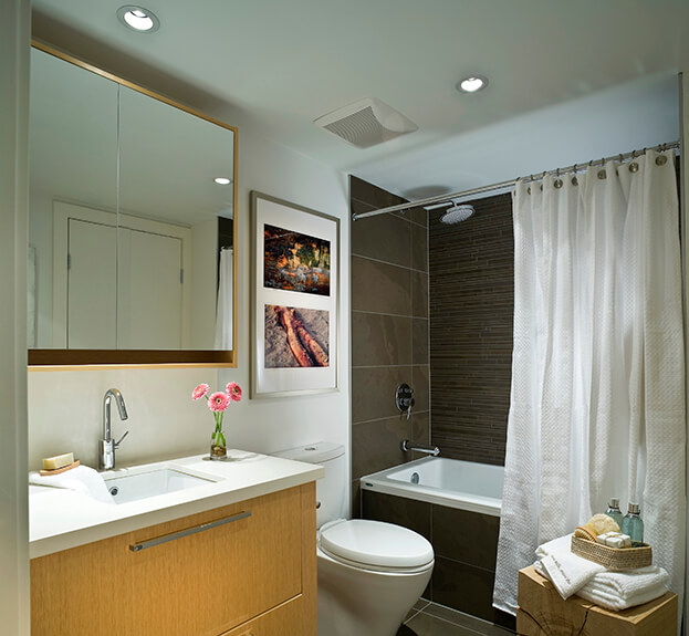 spa bathroom lighting 10 affordable ideas that will turn your small bathroom 14525