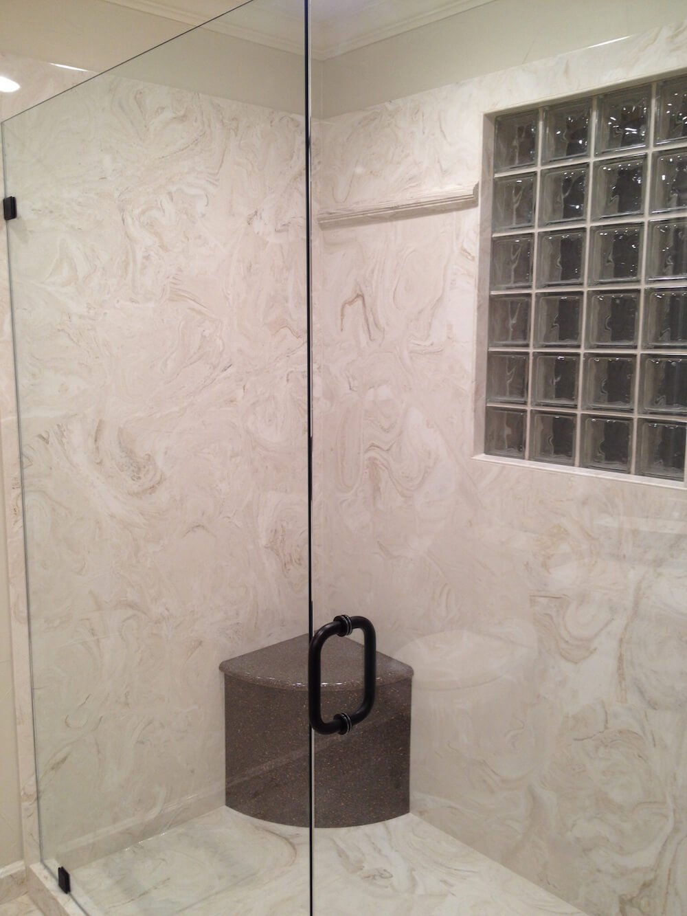 2017 Cultured Marble Shower Walls Cost | Marble Shower Price