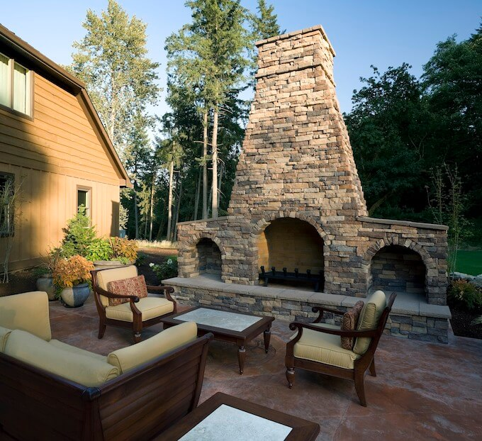 2017 Fireplace Installation Cost | Installing a Fireplace on Backyard Outdoor Fireplace id=16729