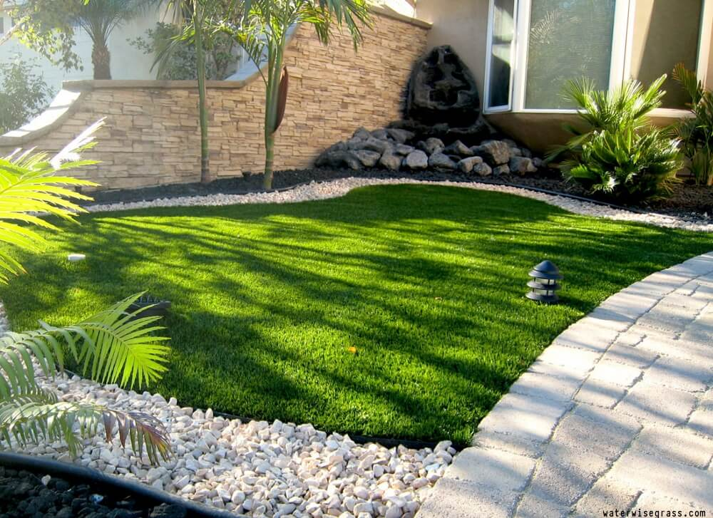 Landscaping Where Grass Won't Grow | Landscaping Ideas on Turf Patio Ideas id=63696